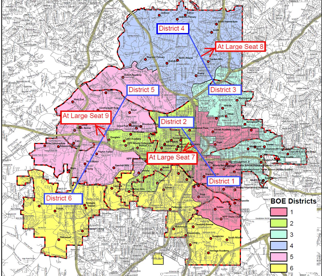 BOE District Map Financial Deconstruction
